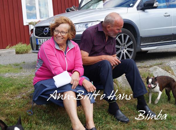 Bimbas helt underbara ägare, Ann-Britt o Hans.
