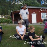 En del av Hjalmars familj, Maria, Fredrik o Linn