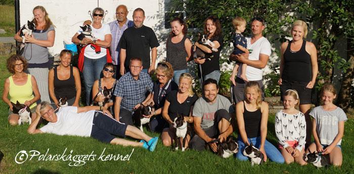 KENNELTRÄFF 2016 i Hjoggböle, Skellefteå hemma hos oss, Polarskäggets Kennel.