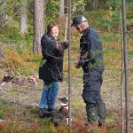 Ann-Britt instruerar Hans & Bimba.