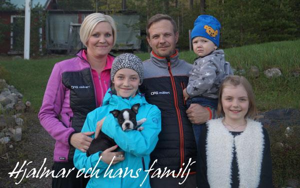Hjalmars-familj